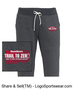 Pennant Women's Jogger Sweatpants Design Zoom